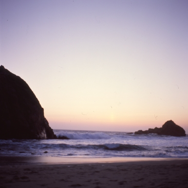 calm :: big sur :: 2013 :: ektachrome