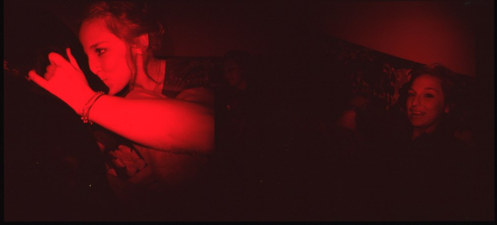 red dozer, red dozer :: ektachrome :: holga :: 2010