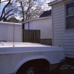 on my way home :: sheffield, alabama :: 2013 :: ektachrome