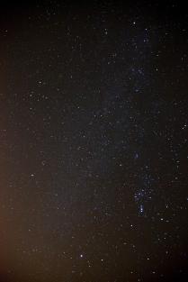 orion and gemini | new moon | taurus | november 2014 | sebastopol, ca | canon 5d