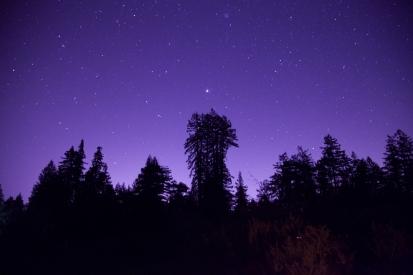 solstice sky | new moon | gemini | winter solstice 2014 | sebastopol, ca | canon 5d